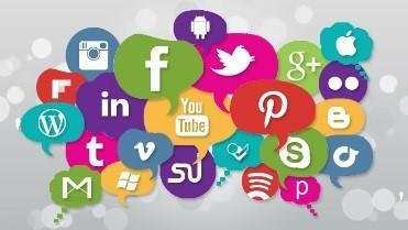 Online platform icons including facebook, instagram, your tube, etc.