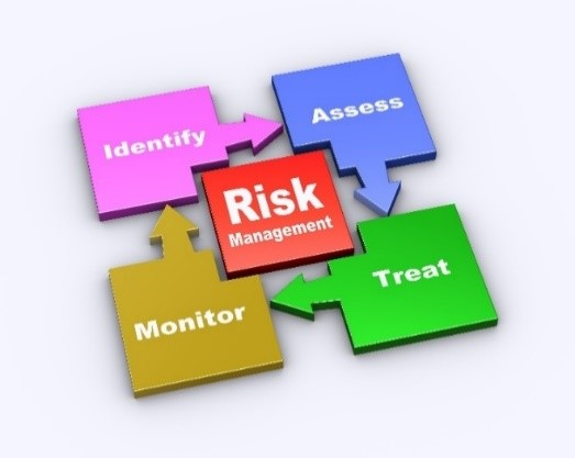 Stages of Risk Management: Identify, Assess, Treat, Monitor